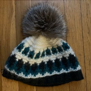 Brooks Brothers Winter Hat with Real Fur